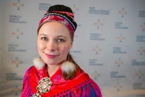 Sametingsrepresentant Sandra Márjá West