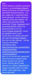 illustrasjon sms